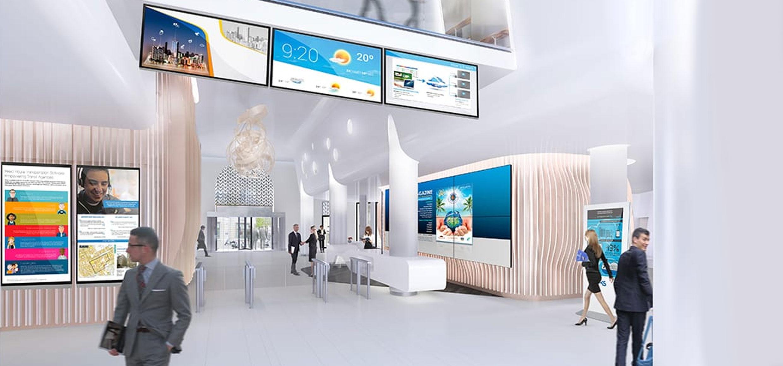 Perché investire sul digital signage – La multimedialità in filiale